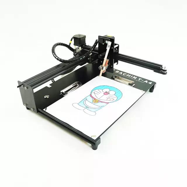 دستگاه حکاکی و برش لیزری ۵ وات صفحه دار مدل GB-3020P