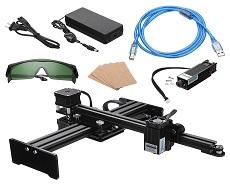 دستگاه حکاکی لیزری SUPA 500-Proدارای صفحه کار 300mmx200mm