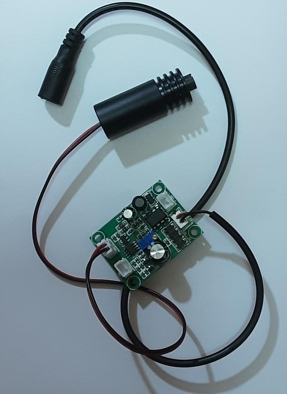 لیزر آبی مخصوص حکاکی ۱۰ وات ۴۵۰  نانومتر مدل BL445-6w