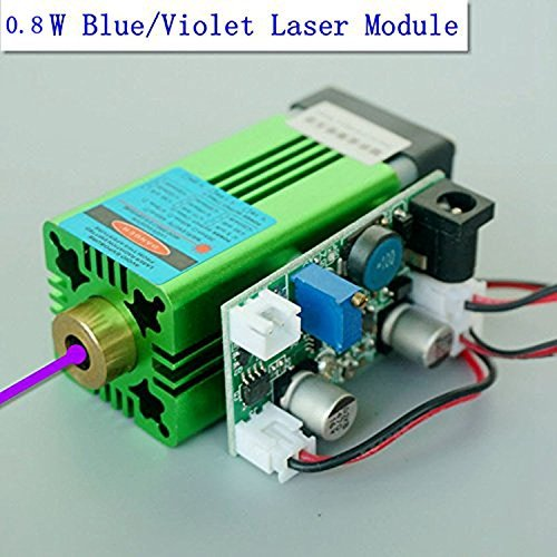 لیزر قدرت 405nm 0.8W