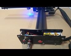 دستگاه حکاکی لیزری GM-20305 دارای صفحه کار 300mmx200mm
