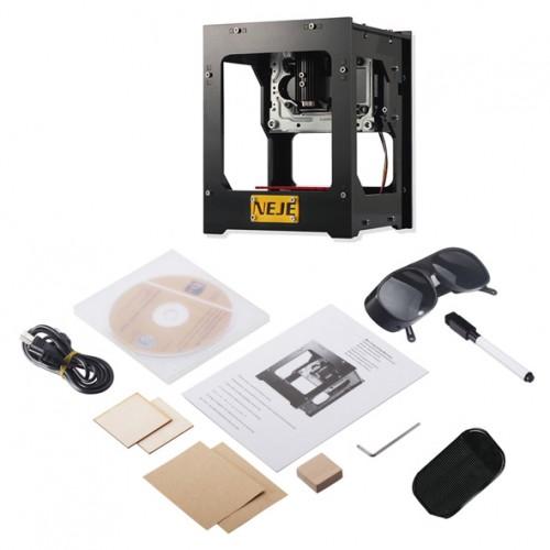 دستگاه مینی لیزر حکاکی رومیزی دارای صفحه کار 38mmx38mm محصول sunshid مدل ۱۳۱
