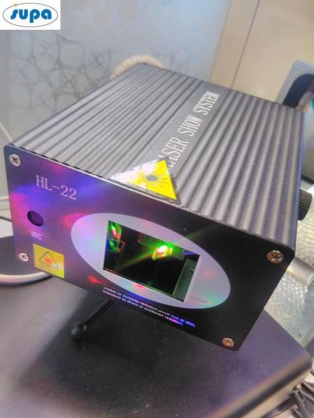 لیزر RGB با آینه های چرخان