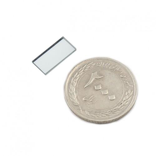 آینه بازتابی RGB دارای ابعاد 14mmX7mm و طول موج 400 الی 700 نانومتر