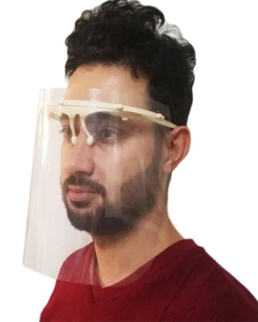 عینک و شیلد محافظ صورت